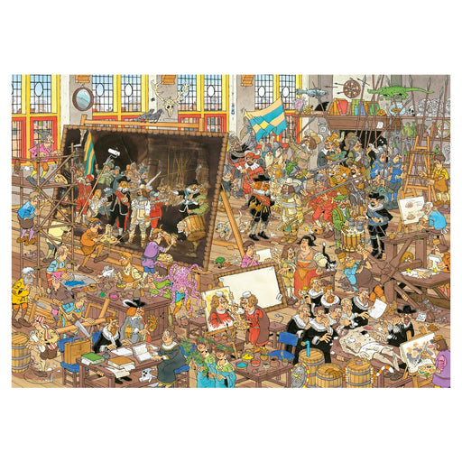 Jan van Haasteren A Trip to the Museum 2 X 1000 Piece Jigsaw