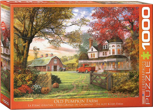 Old Pumpkin Farm - Dominic Davison 1000 Piece Jigsaw Puzzle
