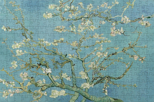 Van Gogh Almond Blossoms 300 Piece Wooden Jigsaw Puzzle
