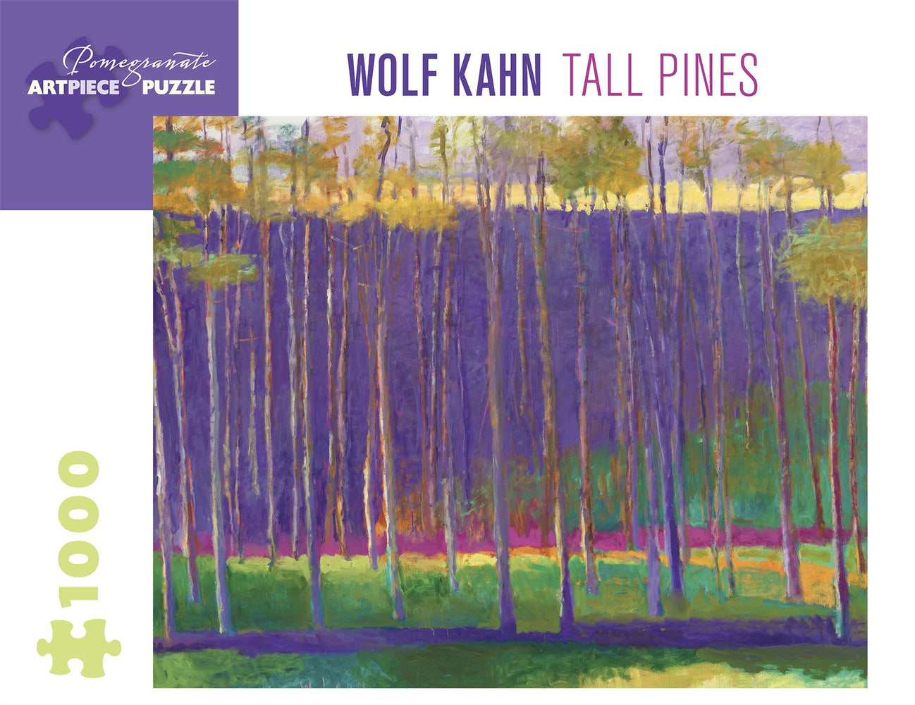 Wolf Kahn: Tall Pines 1000 Piece Jigsaw