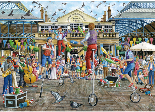 Falcon de luxe Covent Garden 500 Piece Jigsaw Puzzle