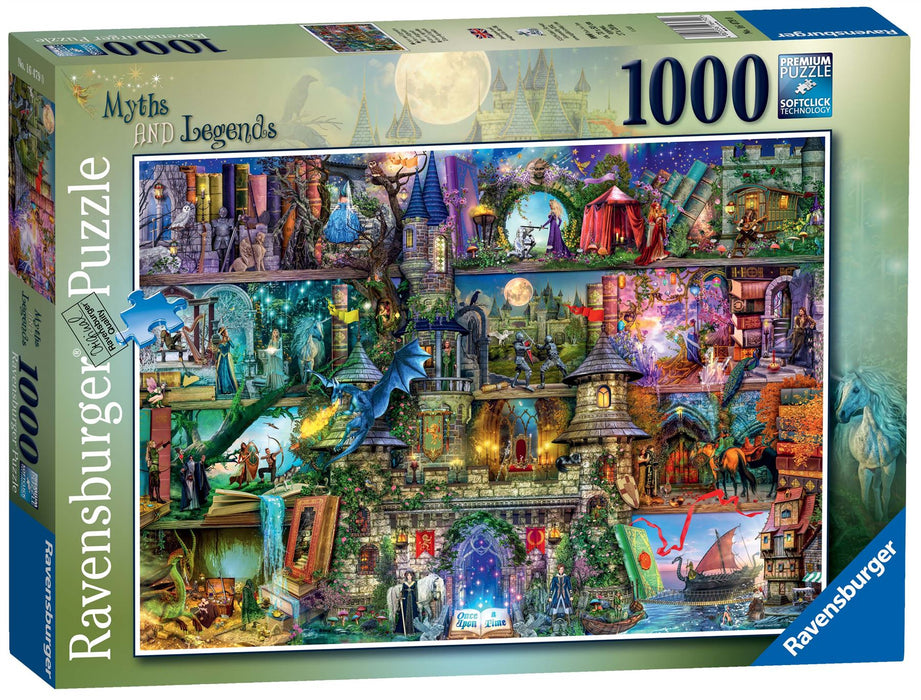 Ravensburger Myths & Legends, 1000 Piece Jigsaw Puzzle 1
