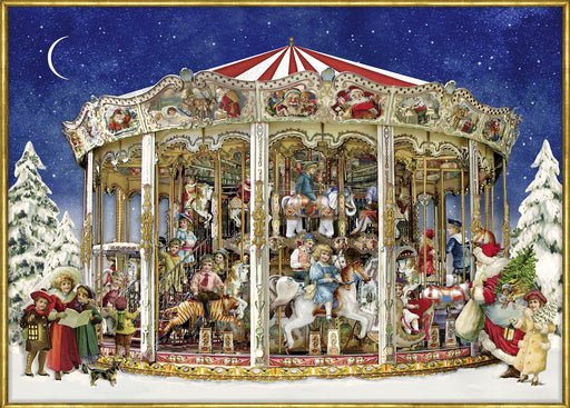 Christmas Carousel - Coppenrath 1000 Piece Jigsaw Puzzle