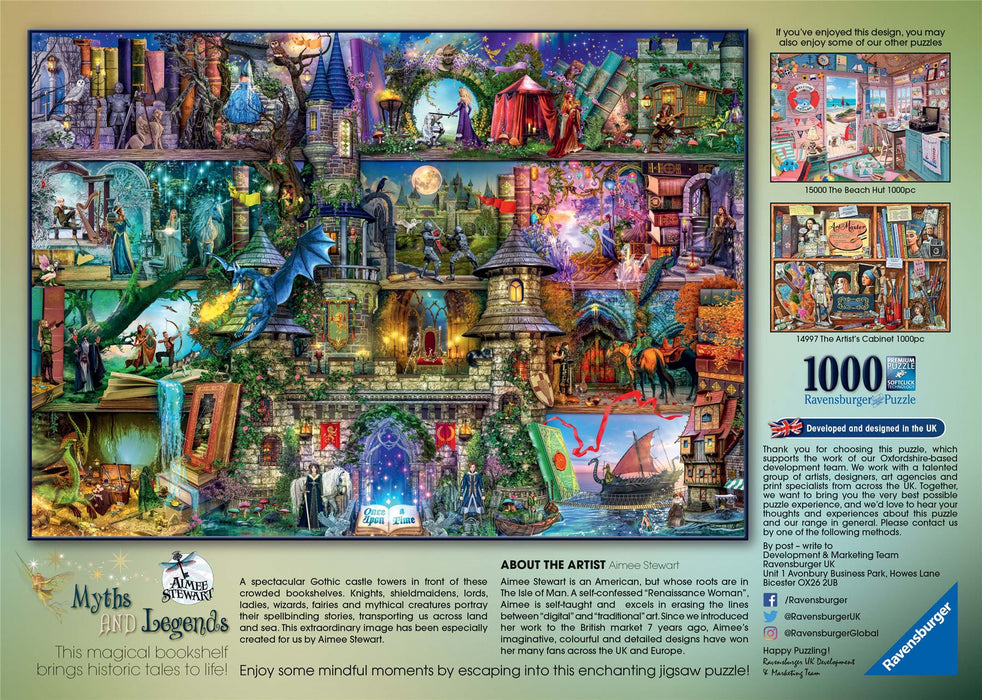 Ravensburger Myths & Legends, 1000 Piece Jigsaw Puzzle 2