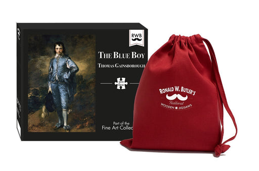The Blue Boy - Thomas Gainsborough - 300 Piece Wooden Jigsaw Puzzle