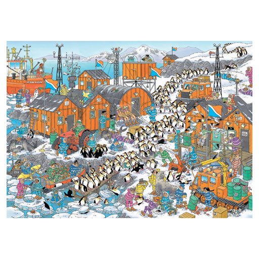 Jan van Haasteren South Pole Expedition 1000 Piece Jigsaw Puzzle