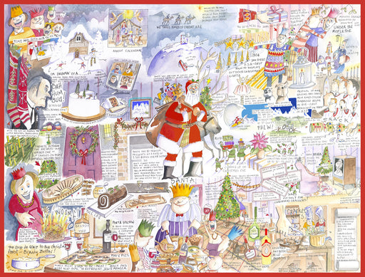 Christmas - Tim Bulmer 1000 Piece Jigsaw Puzzle box