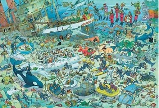Jan van Haasteren Deep Sea Fun 1000 Pieces Jigsaw Puzzle
