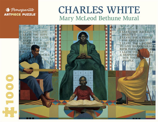 Charles White: Mary McLeod Bethune Mural 1000 Piece Jigsaw