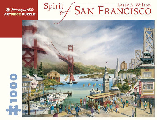 Larry A. Wilson: Spirit of San Francisco 1000 Piece Jigsaw