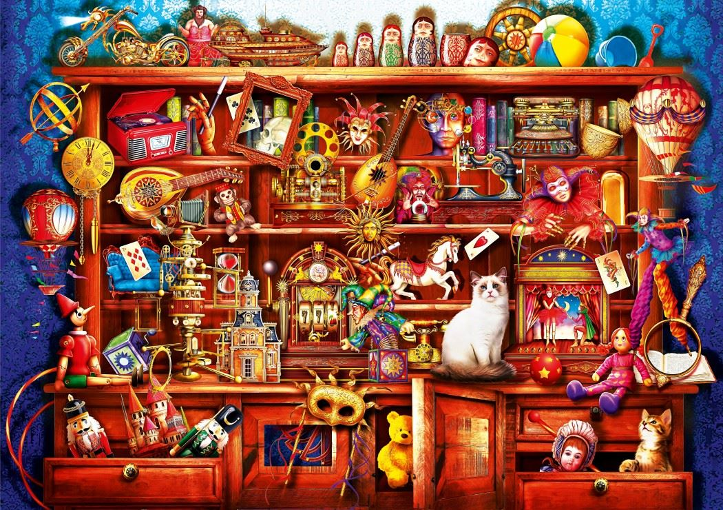 Ye Old Shoppe 1000 Piece Jigsaw Puzzle