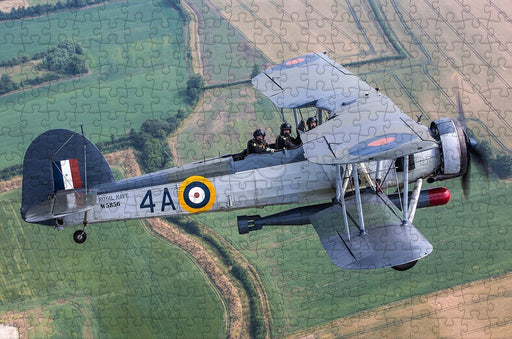 Fairey Swordfish - Navy Wings 300 Wooden Piece Jigsaw Puzzle