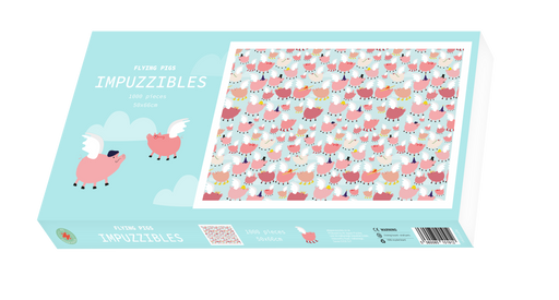 Flying Pigs - Impuzzible - 1000 Piece Jigsaw Puzzle