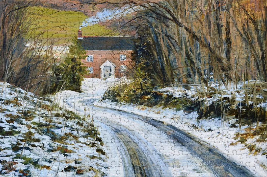 Gamekeepers Cottage 300 Piece Wooden Jigsaw Puzzle