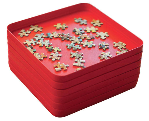 Jigsaw Accessories - Puzzle Mates Puzzle Sorters - Six Sorting Trays