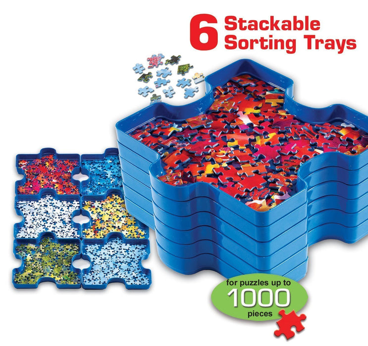 Puzzle Sort & Go! Sorting Trays - All Jigsaw Puzzles UK  - 1