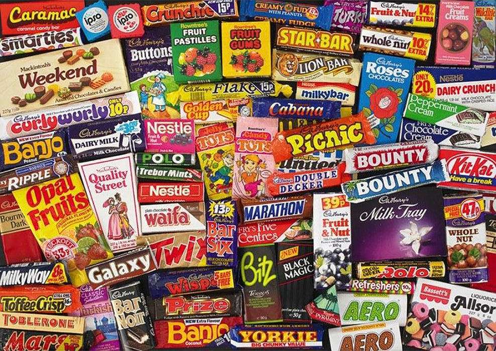 1980's Sweet Memories, 1000 Piece Jigsaw Puzzle