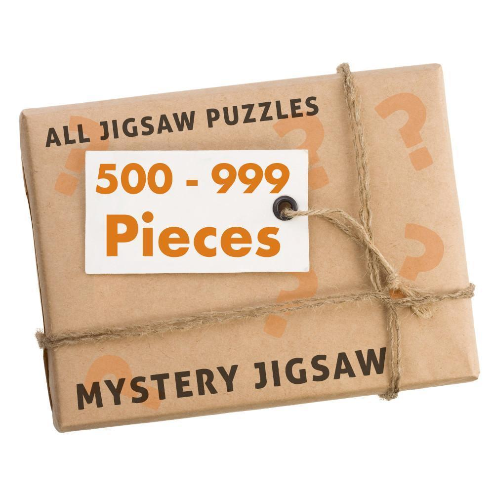 Jigsaw Puzzle - 500-999 Pc Mystery Bargain Jigsaw Puzzle
