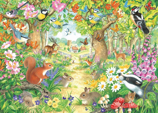 Jigsaw Puzzle - A Woodland Trail - Falcon De Luxe 1000 Piece Jigsaw Puzzle
