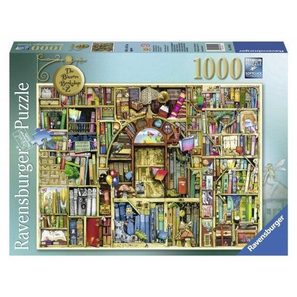 Bizarre Bookshop 2 - Colin Thompson Jigsaw Puzzle - All Jigsaw Puzzles UK  - 2