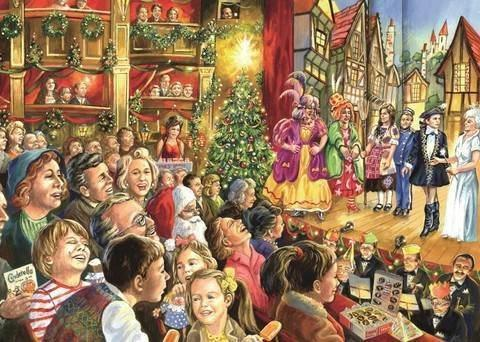 Christmas Pantomime 1000 Piece Jigsaw Puzzle - All Jigsaw Puzzles UK  - 1