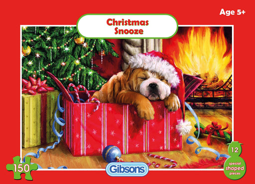 Christmas Snooze 150 Piece Jigsaw Puzzle