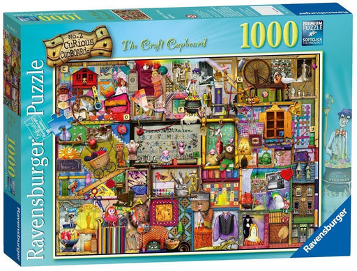 Craft Cupboard - 1000 Piece Colin Thompson Jigsaw Puzzle - All Jigsaw Puzzles UK  - 2