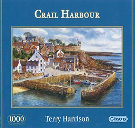 Crail Harbour 1000 Piece Jigsaw Puzzle - All Jigsaw Puzzles UK  - 2