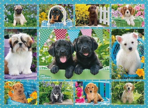 Jigsaw Puzzle - Cute Puppies 500 Piece Jigsaw Puzzle