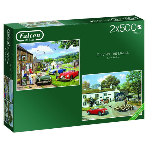 Jigsaw Puzzle - Driving In The Dales 2 X 500 Piece Jigsaw Puzzle