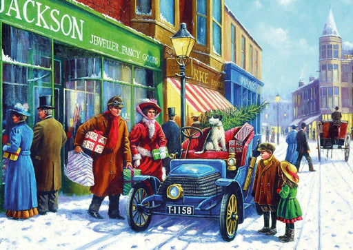 Family Christmas Shop 100XXL Piece Jigsaw Puzzle