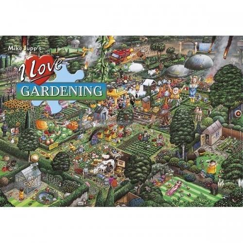 I Love Gardening 1000 Piece Jigsaw Puzzle - All Jigsaw Puzzles UK