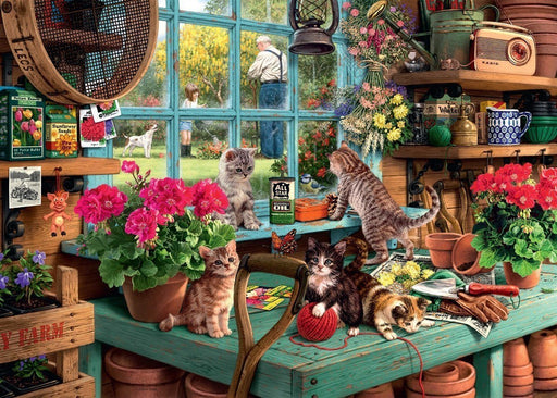 Is He Watching? 1000 Piece Jigsaw Puzzle - All Jigsaw Puzzles UK  - 1