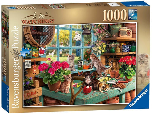 Is He Watching? 1000 Piece Jigsaw Puzzle - All Jigsaw Puzzles UK  - 2