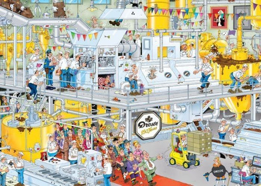 Jan van Haasteren Chocolate Factory 1000 Piece Jigsaw Puzzle - All Jigsaw Puzzles UK
