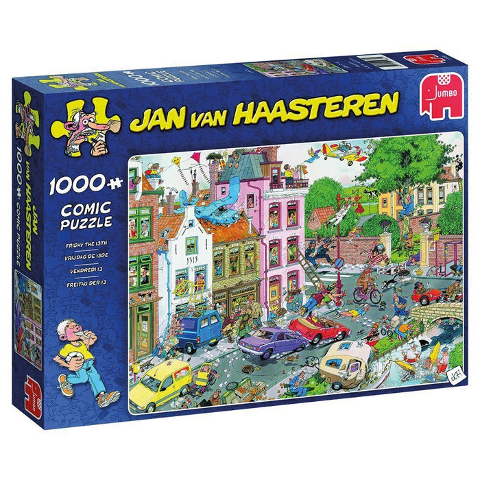 Jan van Haasteren Friday 13th 1000 Piece Jigsaw Puzzle