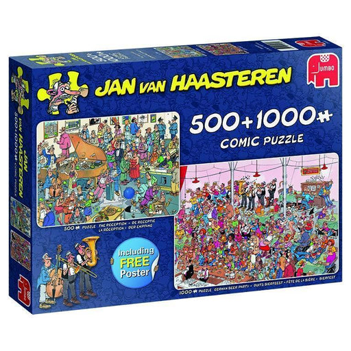 Jigsaw Puzzle - Jan Van Haasteren - Let's Party! 500 & 1000 Piece Jigsaw Puzzles