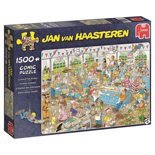 Jigsaw Puzzle - Jan Van Haasteren The Clash Of The Bakers 1500 Piece Jigsaw Puzzle