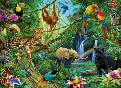 Jungle XXL 200pc 8+ Jigsaw Puzzle - All Jigsaw Puzzles UK