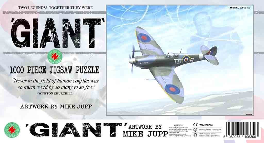 Jigsaw Puzzle - Mike Jupp - Giant 1000 Or 500 Pieces Jigsaw Puzzle