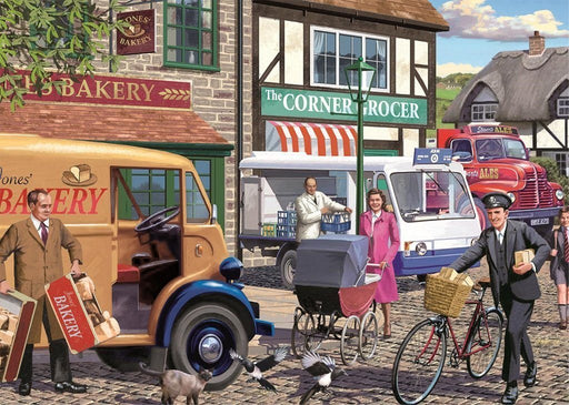 Jigsaw Puzzle - Morning Deliveries 1000 Piece Jigsaw Puzzle