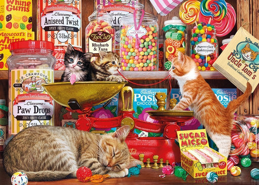 Jigsaw Puzzle - Paw Drops And Sugar Mice 1000 Piece Jigsaw Puzzle