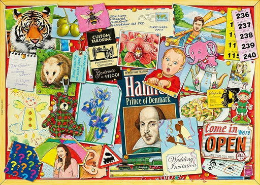 Jigsaw Puzzle - Pinboard Posters No 1 - 1000 Piece Jigsaw Puzzle