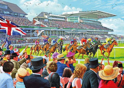 Racing to the finish 1000 Piece Jigsaw Puzzle