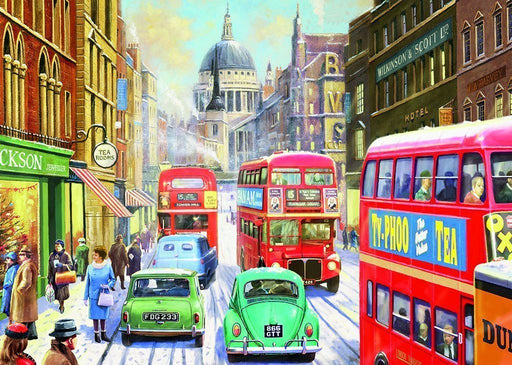 Jigsaw Puzzle - Snow In London City 1000 Piece Jigsaw Puzzle