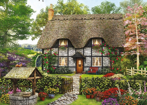 Jigsaw Puzzle - The Florist's Cottage 500 Piece Jigsaw Puzzle