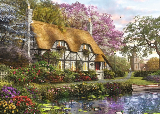 Jigsaw Puzzle - The Gardener's Cottage 1000 Piece Jigsaw Puzzle