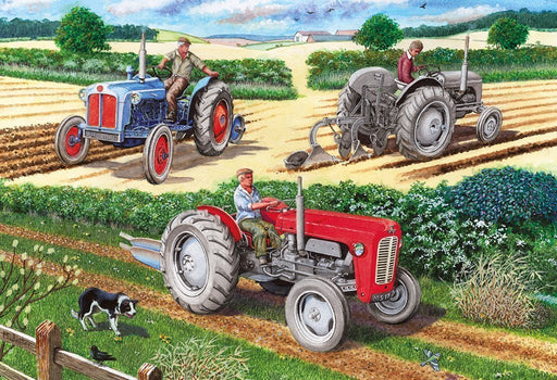 Jigsaw Puzzle - The Ploughing Match 500 Piece Jigsaw Puzzle
