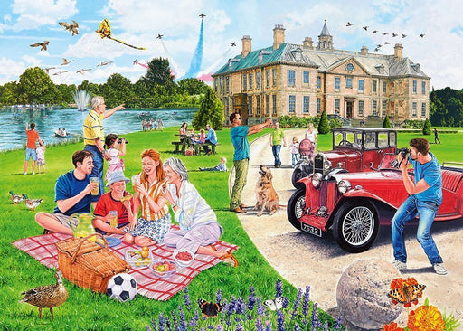 Jigsaw Puzzle - The Stately Home 1000 Piece Jigsaw Puzzle