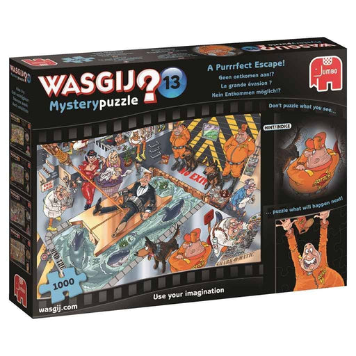 Jigsaw Puzzle - Wasgij Mystery 13: A Purrrfect Escape! 1000 Piece Jigsaw Puzzle